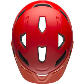 Bell Sidetrack Helmet Kinder matte red/orange